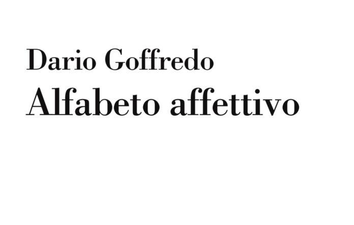 Dario Goffredo alfabeto affettivo